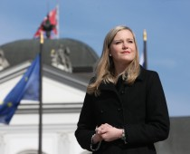 Vladimíra Ledecká: po boku prezidenta