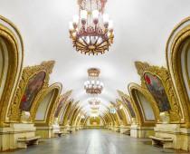 Hypnotizujúca krása moskovského metra