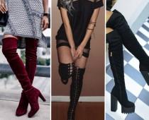 Najhorúcejší must have trend: Čižmy nad kolená!