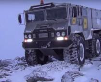 BURLAK: tento ruský off-road má pokoriť Severný pól