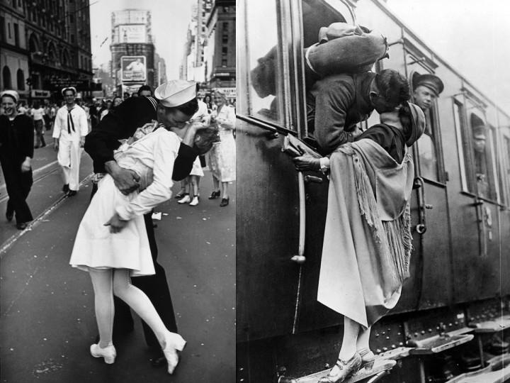 Najkrajšie fotografie ukazujúce lásku počas vojnových čias…