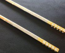 Toto sú 17.000 $ paličky, ktoré si zoberieš domov po 2 miliónovej večeri