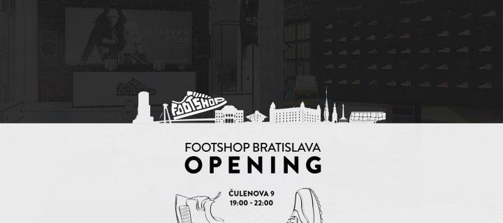Footshop Bratislava Opening Party!