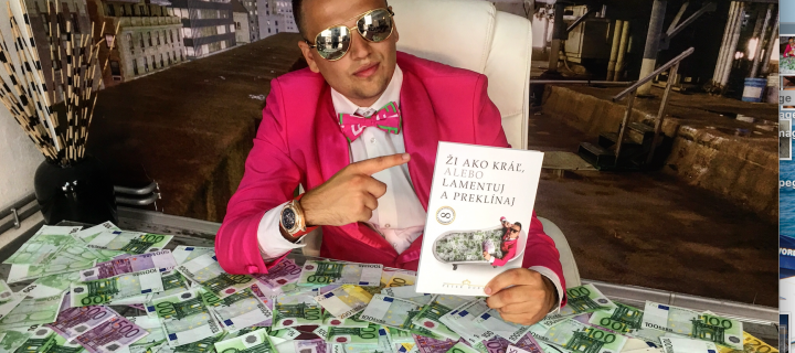 Mladému Milionárovi z Topoľčian sa kvôli úspechu na Instagrame vyhrážajú smrťou!