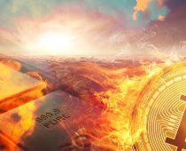 Potenciálna hrozba? Bitcoin môže prispieť k globálnemu otepľovaniu