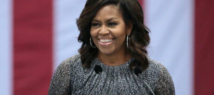 Najobdivovanejšia žena Spojených štátov: Michelle Obamová