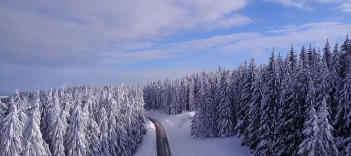 Video: takto vyzerá zima v Oravskej Lesnej