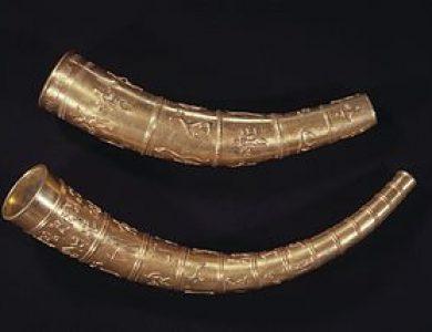Historické dedičstvo Dánov: zlaté rohy zGallehusu