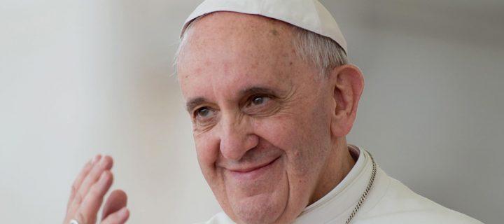 Skromný pápež František