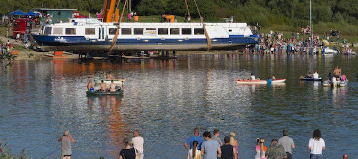 Návštevníci Domaše majú dôvod na radosť. Výletná loď je po 26. rokoch späť!