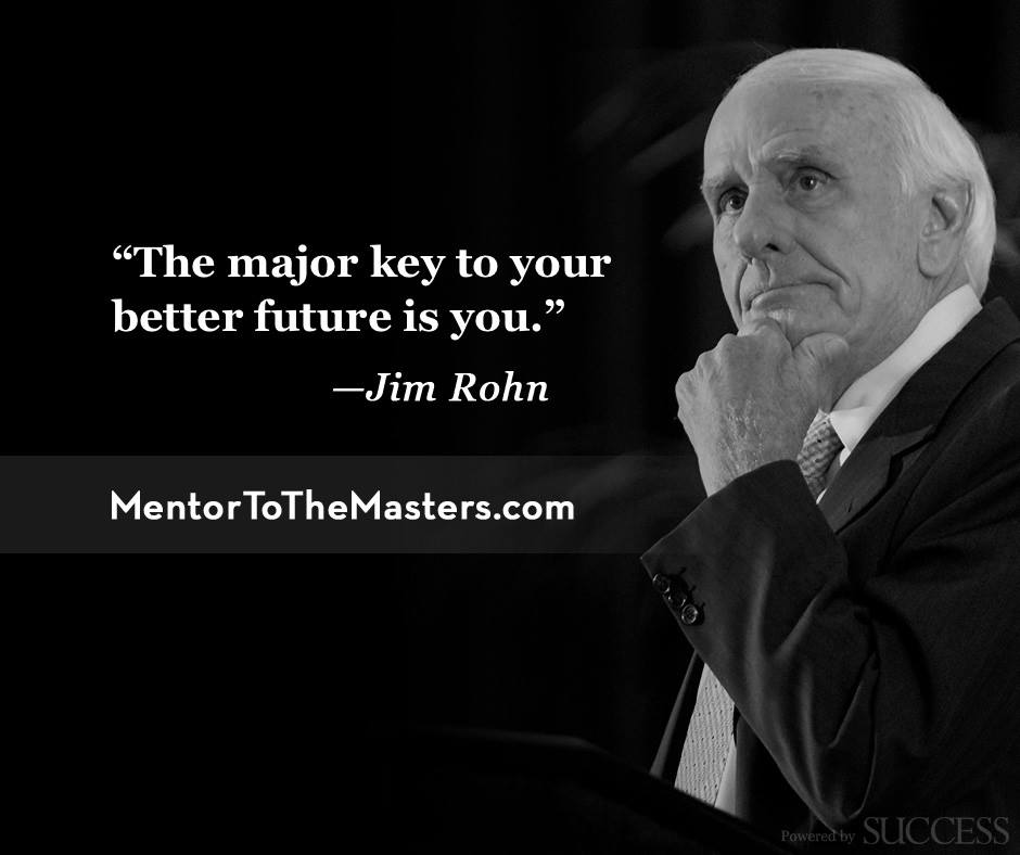 Jim Rohn ako jeden z uznávaných motivátorov