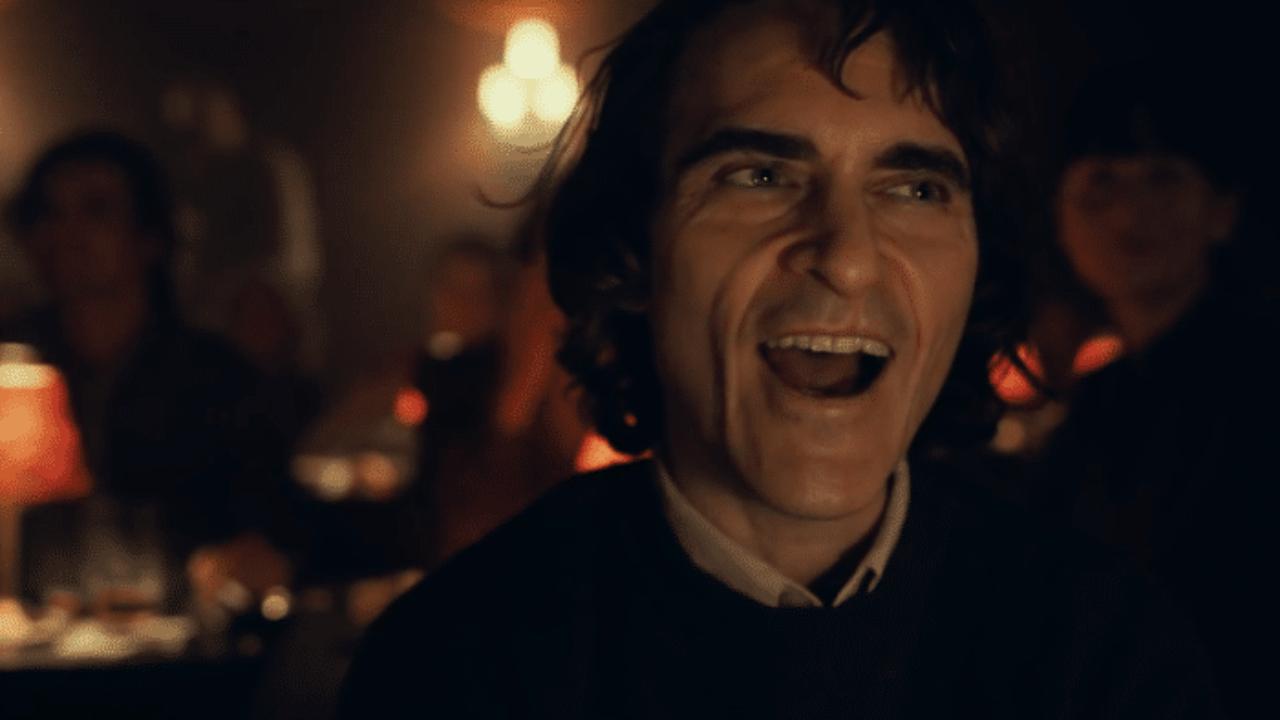 Joker s jeho typickým úsmevom