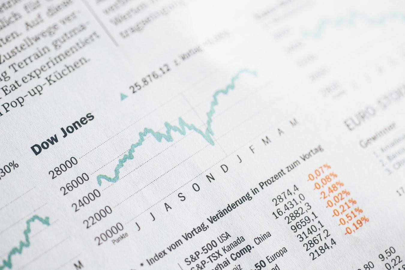 Ako si vybrať investíciu - Markus Spiske grafy