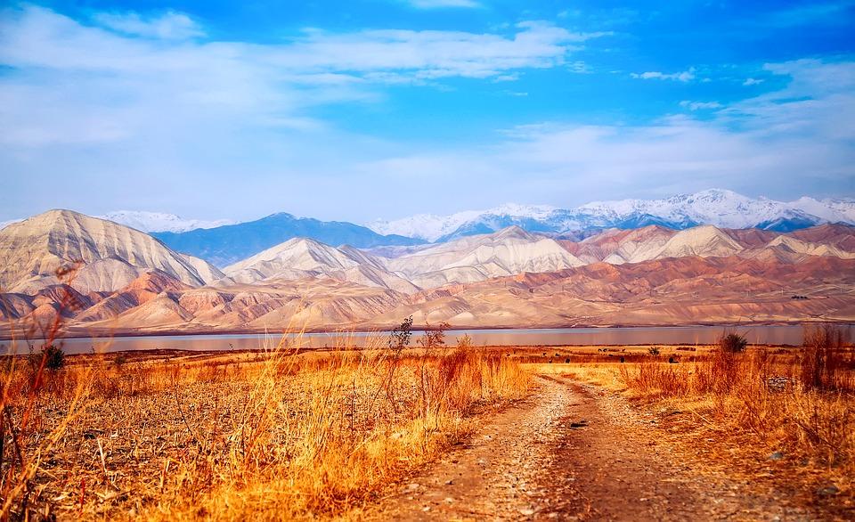 Kirgizsko - hornatá krajina
