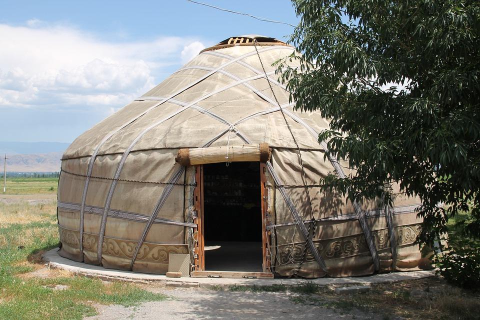 Kirgizsko - život v jurte