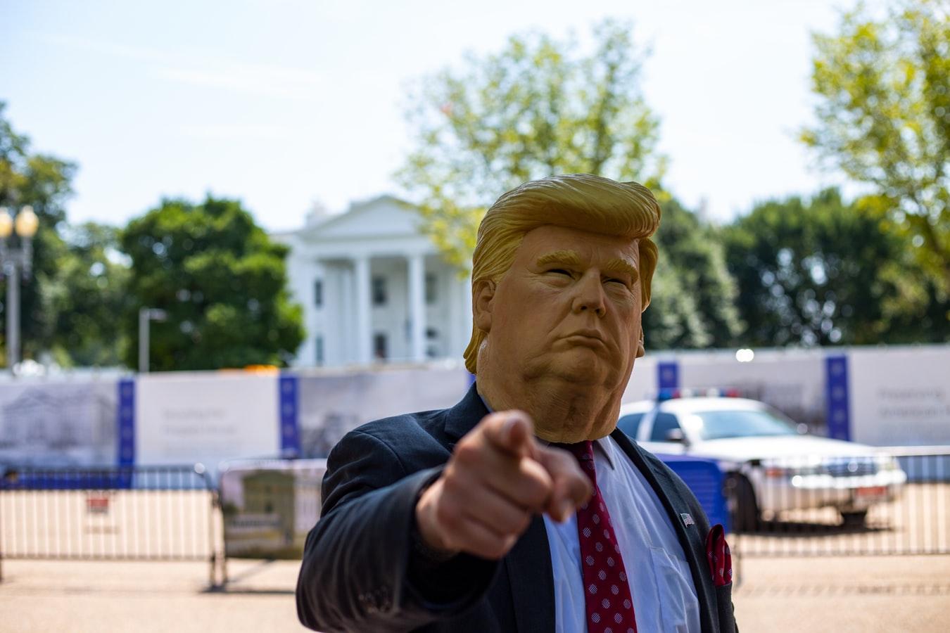 Donadl Trump a foto na rok 2020