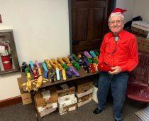 Jim Annis – 80-ročný veterán je skutočný Santa.