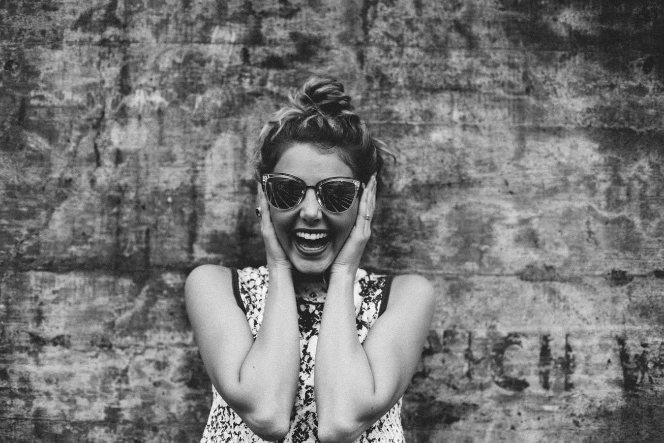 Definícia šťastia - úsmev ženy