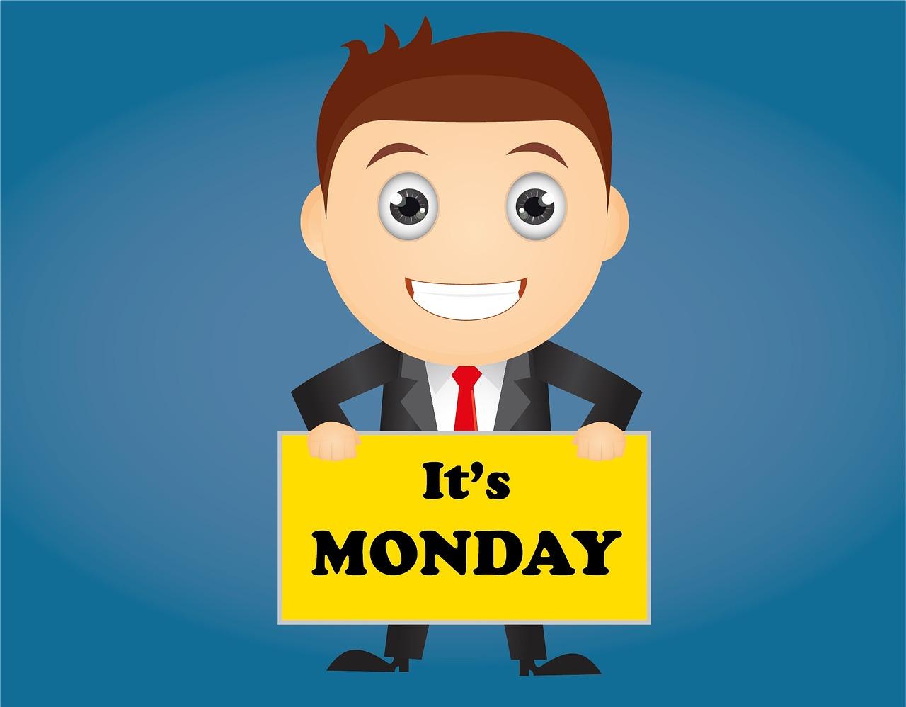 Najlepší deň - pondelok?
