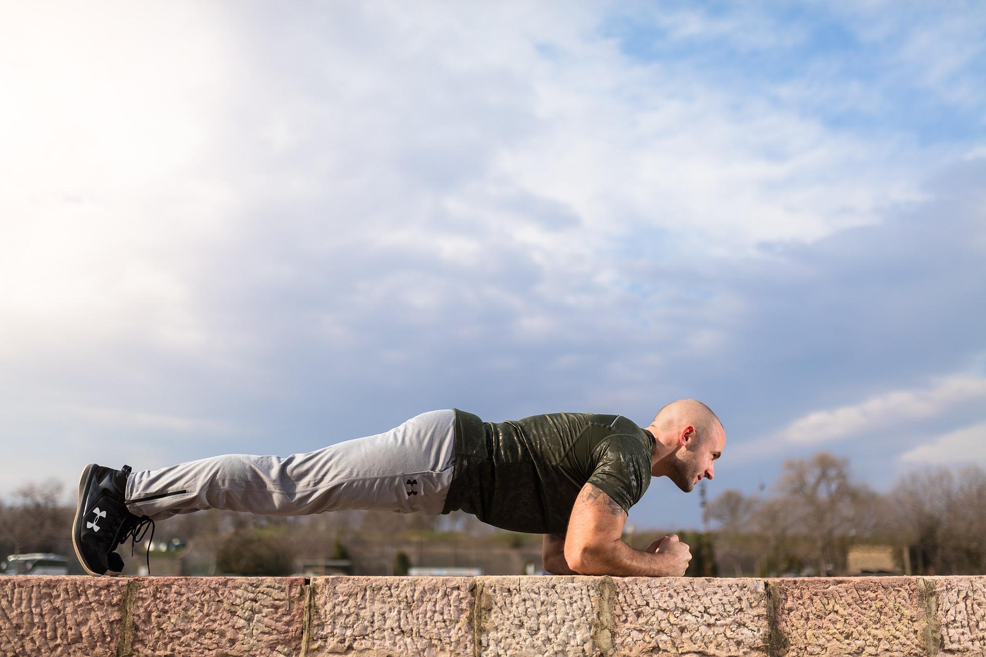 Cvičím doma #cvicimdoma plank