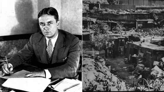 Frank Dolezal - vyšetrovateľ Eliot ness