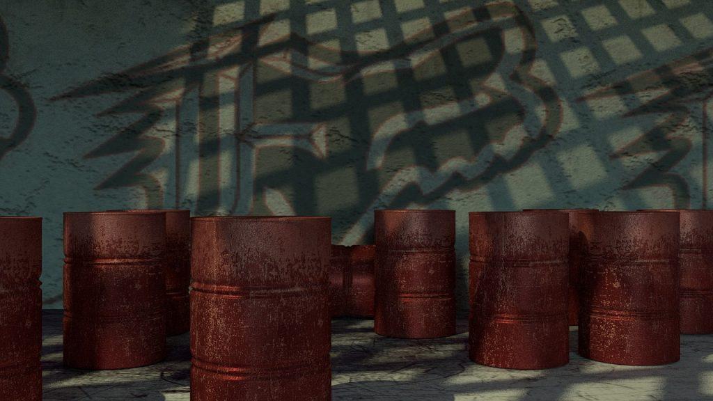 skladovanie ropy v bareloch