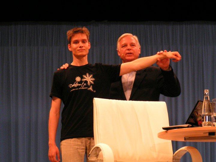 Michal Hrehuš a Jack Canfield