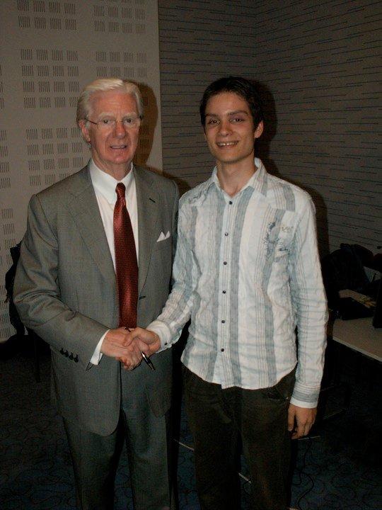 Michal Hrehuš a Bob Proctor