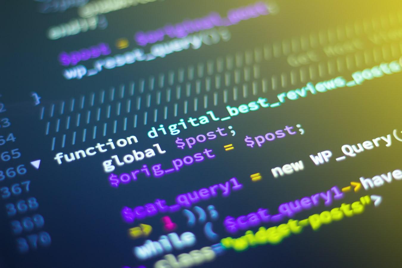 Programovanie webovej stránky