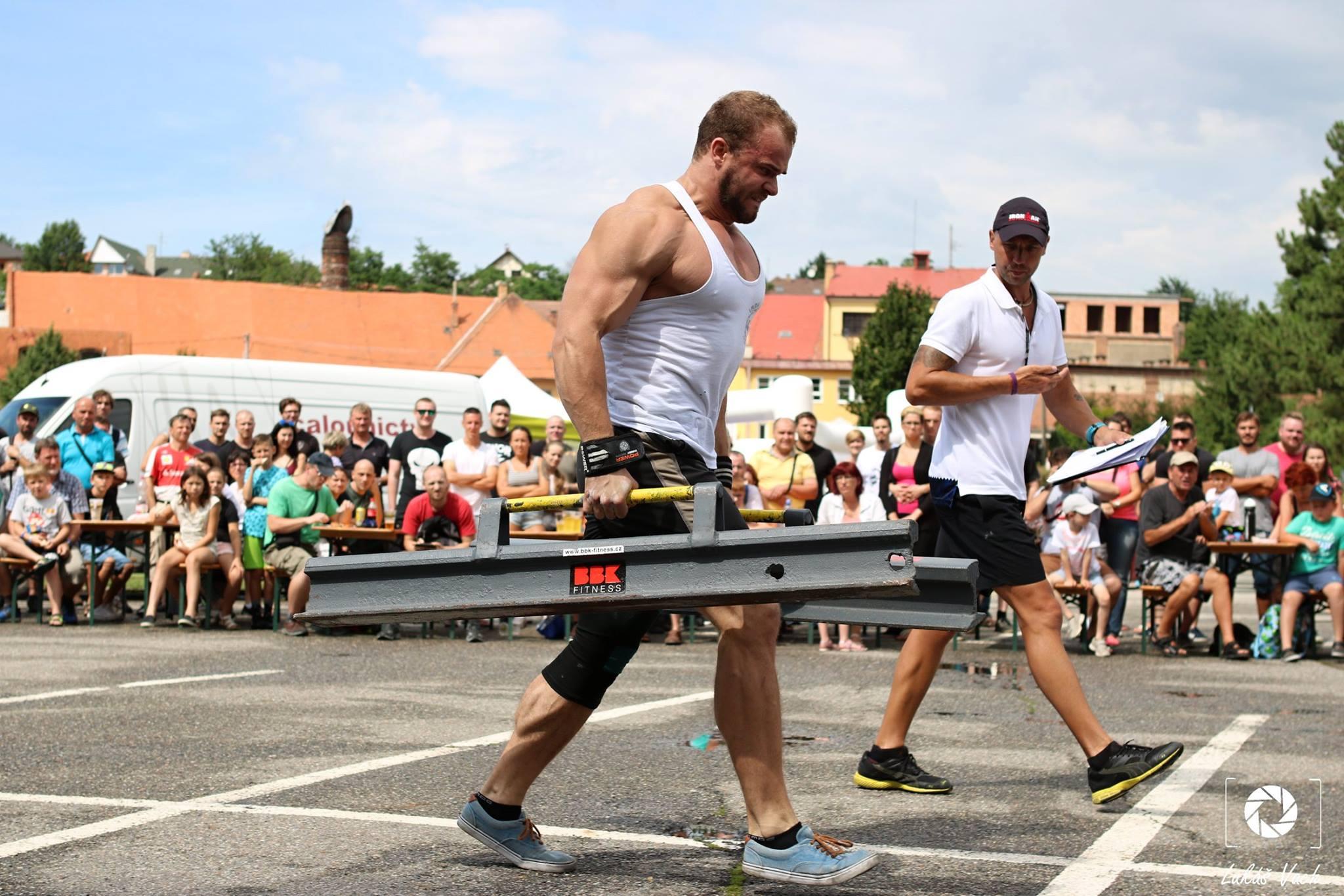 Strongman Ján Michalov