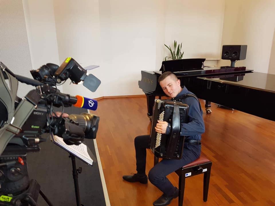 Tomáš Valíček - akordeonista
