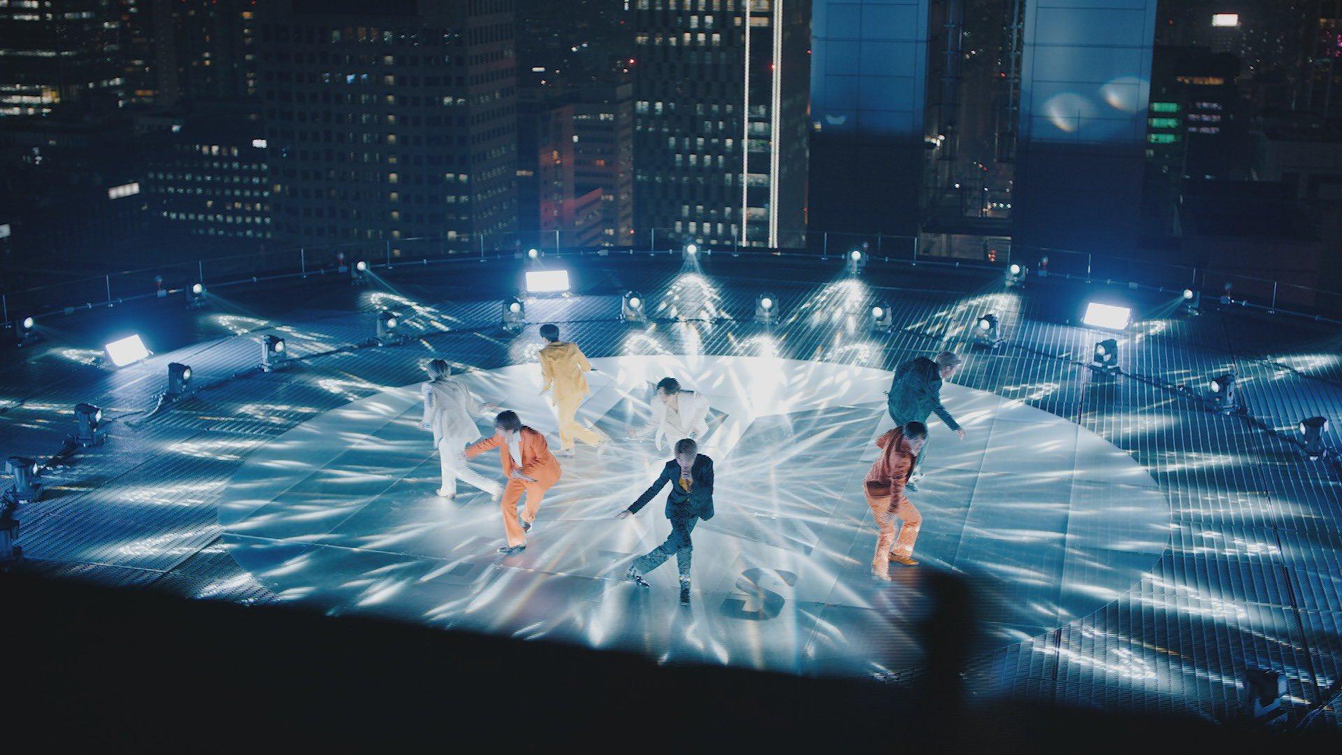 Vystúpenie skupiny BTS