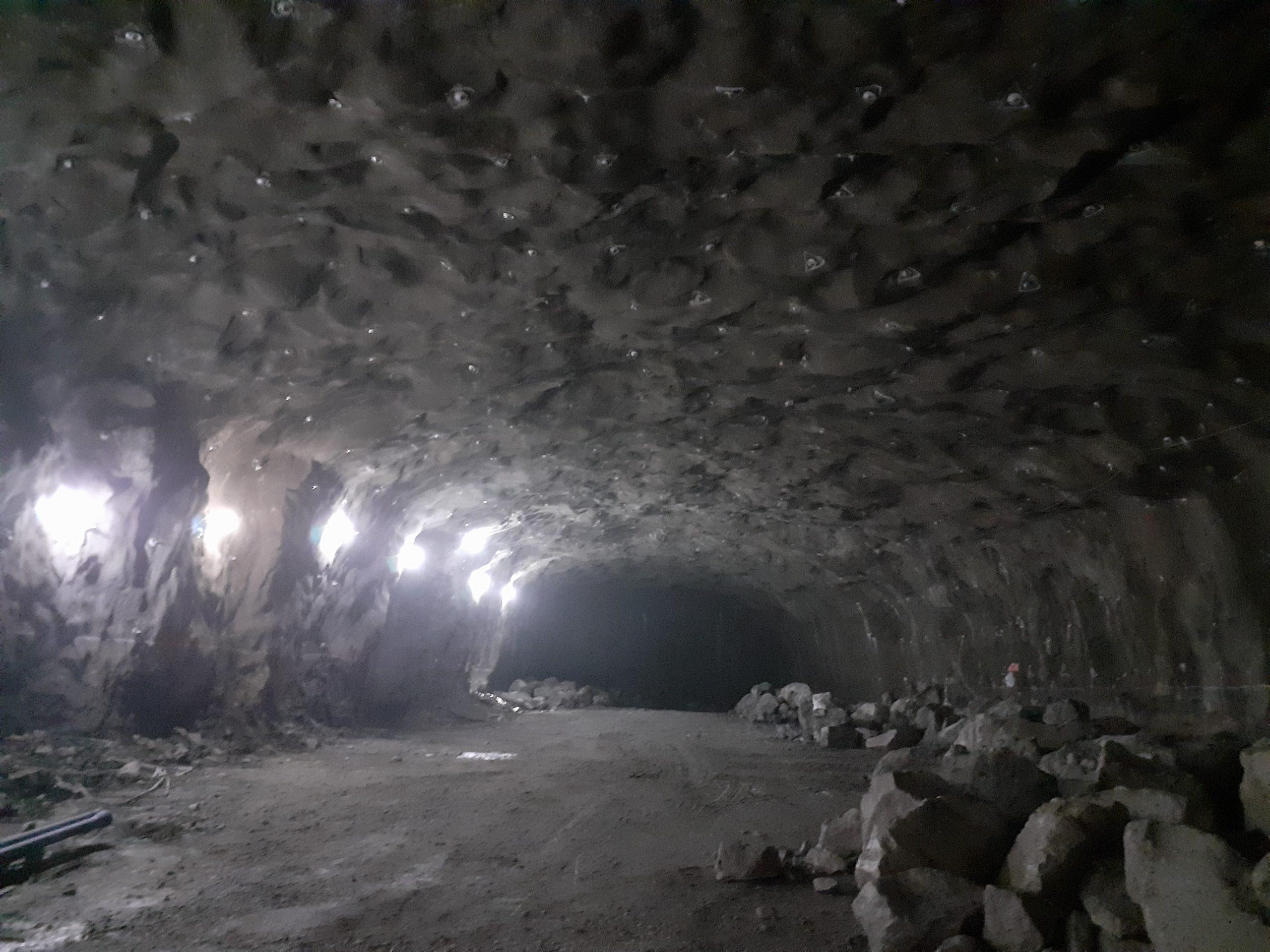 Tunel budovaný pre Štokholm